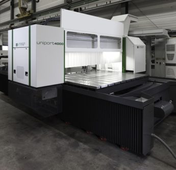 uniport4000, a cncmachine . Produced by Unisign, supplier of high-end CNC machining centres.