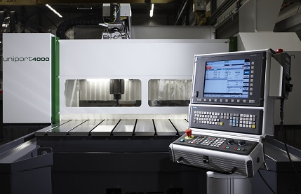 Example of the Uniport4000, a high-end CNC machine.