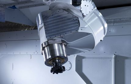 Uniport6000-HV, cnc machine with extreme machining angles