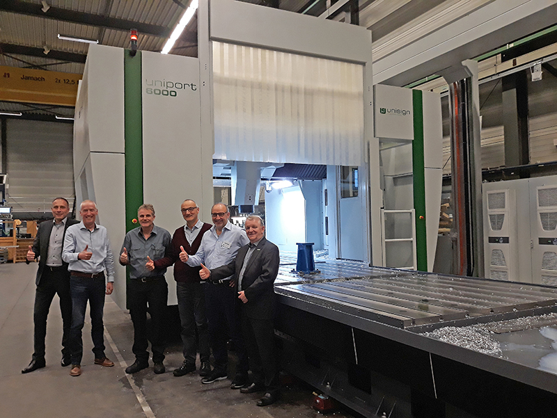 Uniport 6000, CNC machine for Homag GmbH