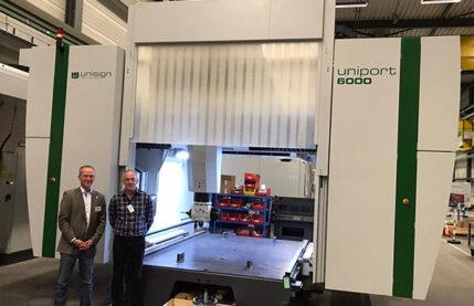 CNC machining-new portal brdige for Homag Kantentechnik