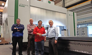 CNC machine Uniport6000 for Multicam, USA