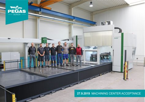CNCmachine for producing band saw machines