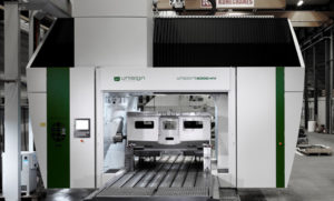 CNC machining centre, Uniport 6000-HV for DroidX in Hungary.