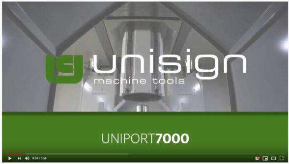 Unisign portal CNC machine - Uniport7000