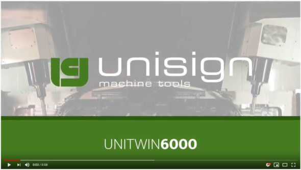 Unisign dedicated CNC machines - Unitwin6000