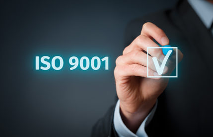 ISO 9001: 2015 certificate